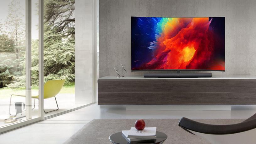 TCL UHD Smart TV C7 /materiały prasowe