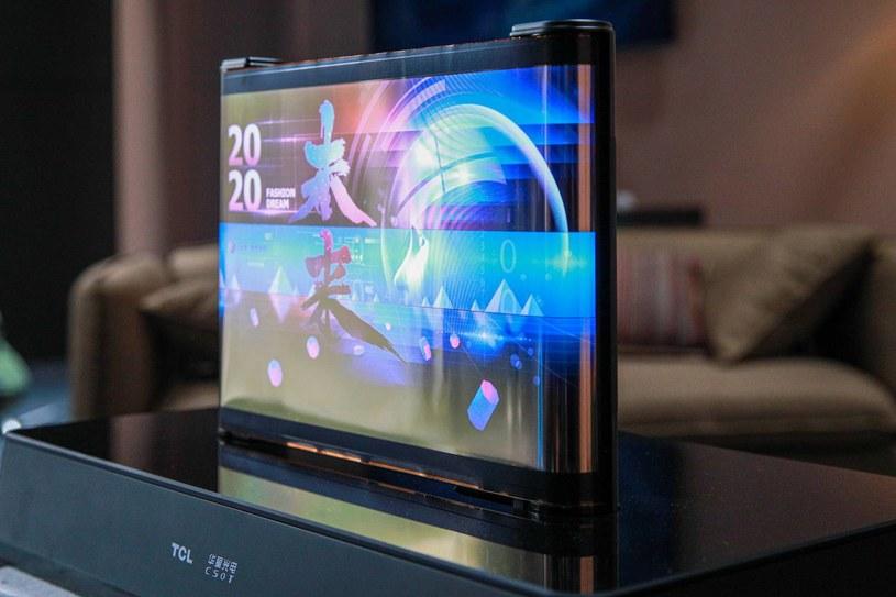 TCL widzi przyszłość w elastycznych ekranach /materiały prasowe
