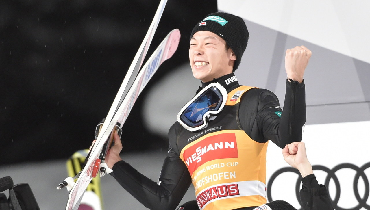 TCS: Wielki triumf Kobayashiego, Kubacki za podium