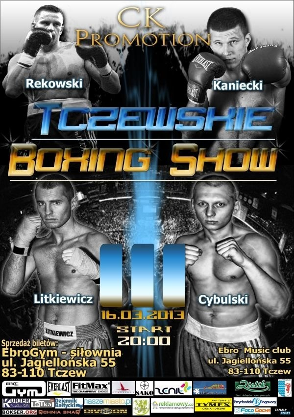 Tczewskie Boxing Show III odbędzie się w sobotę 16 marca /Informacja prasowa