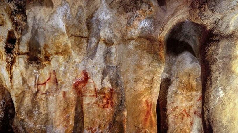 Te rysunki mogły powstać przez neandertalczyków /materiały prasowe