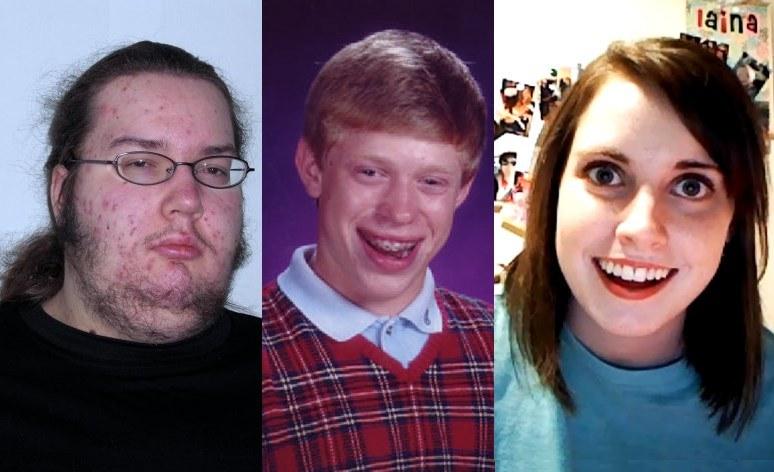 Te twarze to dziś znane na całym świecie memy /INTERIA.PL/materiały prasowe