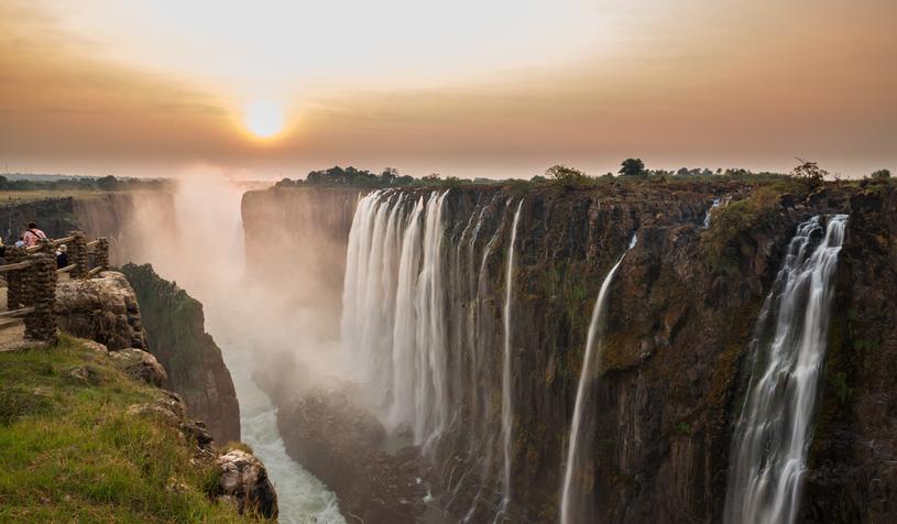 Te wodospady uważane są za jeden z siedmiu cudów świata /123RF/PICSEL