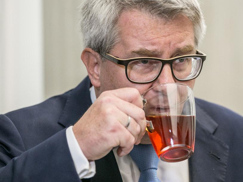 """""""Tea time"""" Ryszarda Czarneckiego /Krzysztof Żuczkowski  /Agencja FORUM"""