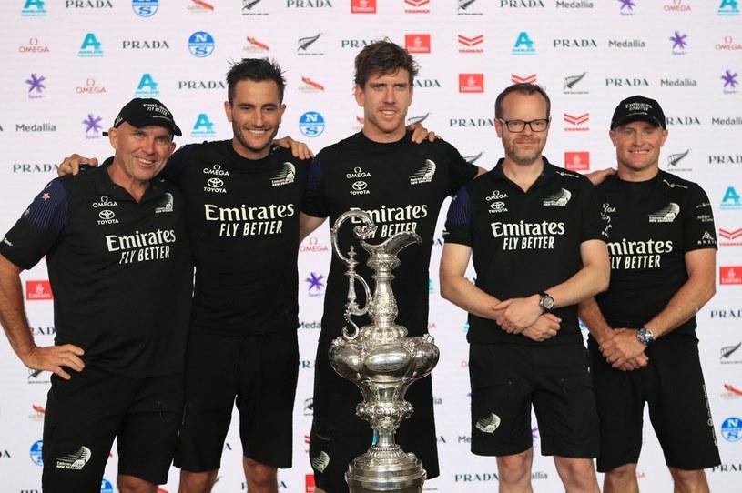 Team New Zealand /AFP/AFP GILLES MARTIN-RAGET/ /AFP