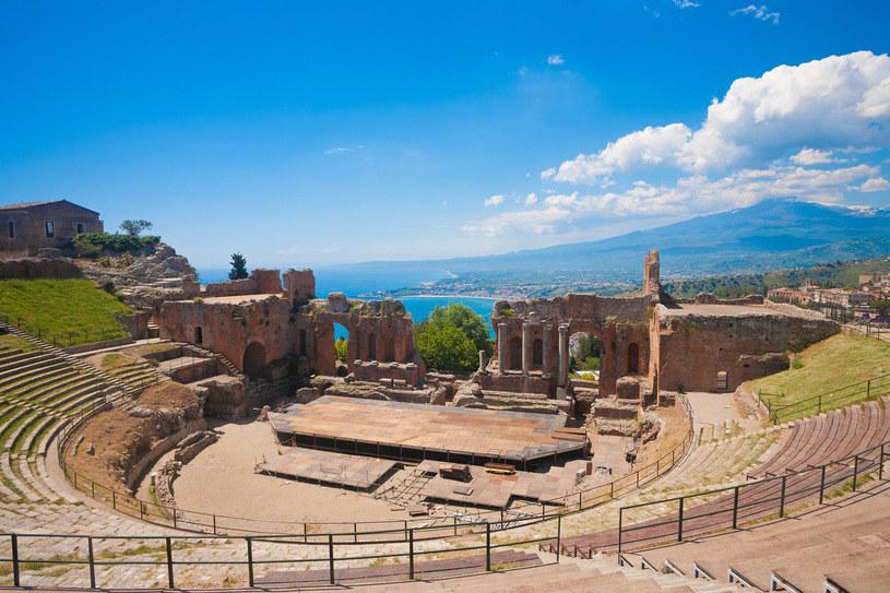 Teatr grecki w Taorminie /123RF/PICSEL