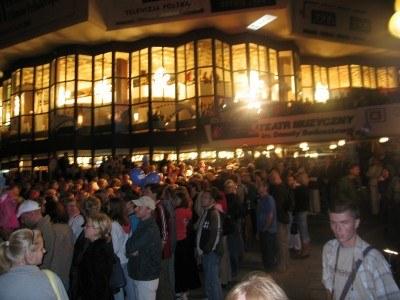 Teatr Muzyczny tuż przed ceremonią zamknięcia festiwalu /INTERIA.PL