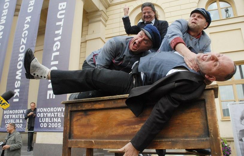 "Teatr Provisorium z fragmentami sztuki ""Ferdydurke"" /Kuba Suszek /East News"