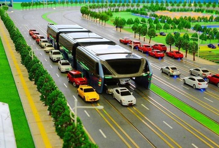TEB to autobus, ale działa bardziej jak tramwaj /News.cn /Internet