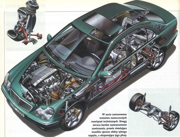technika /Mercedes
