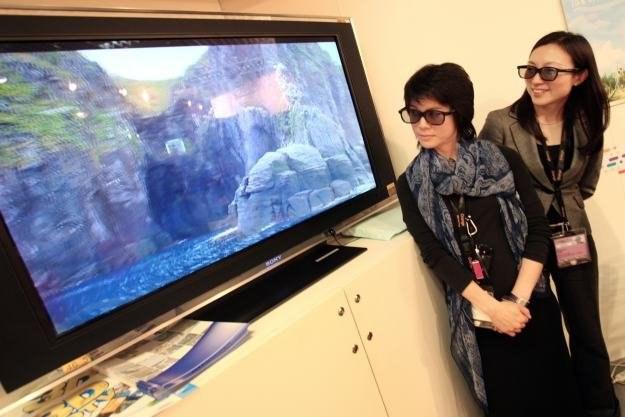 Technologia 3D nie wzbudza u Japończyków specjalnej euforii /AFP