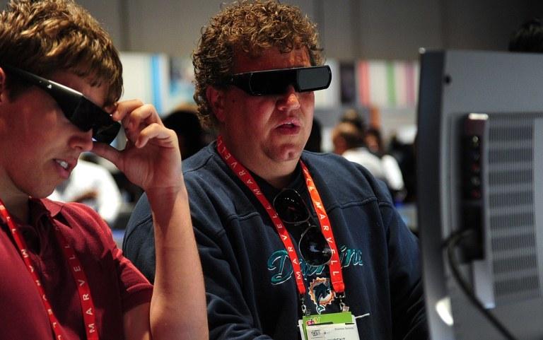 Technologia 3D w telewizorach, tak bardzo promowana w latach 2009-2011, nie przyjęła się /AFP