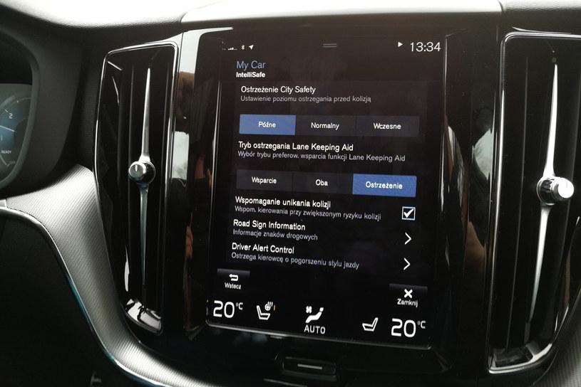 Technologie bezpieczeństwa Volvo /INTERIA.PL