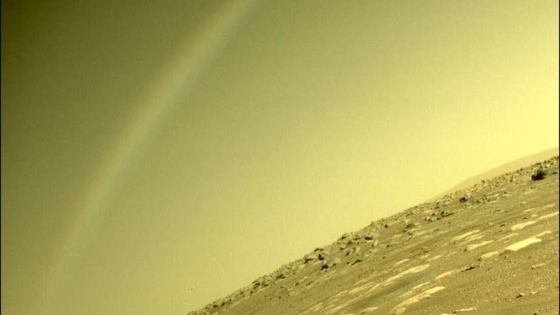 Tęcza na Marsie? /NASA