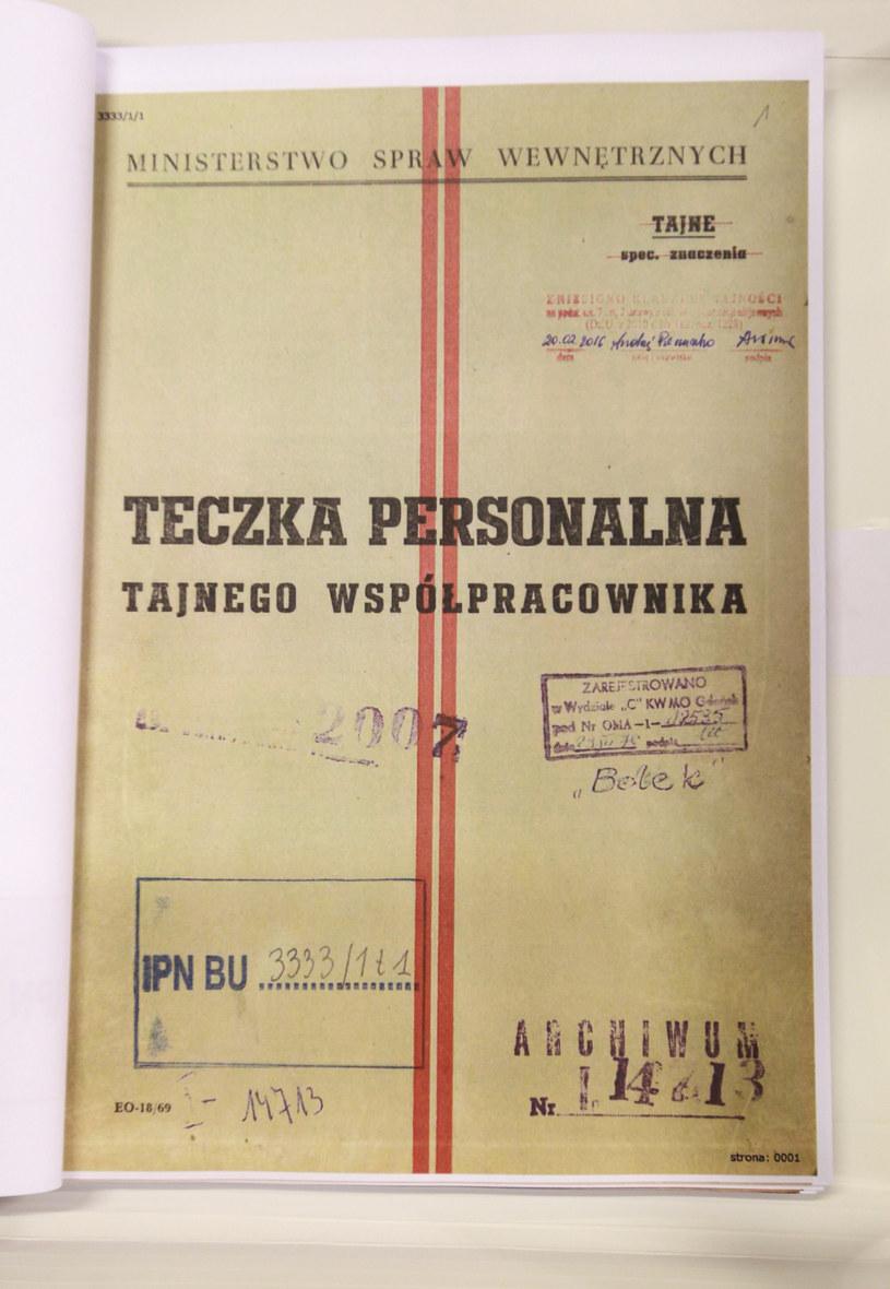 Teczka TW Bolka /East News