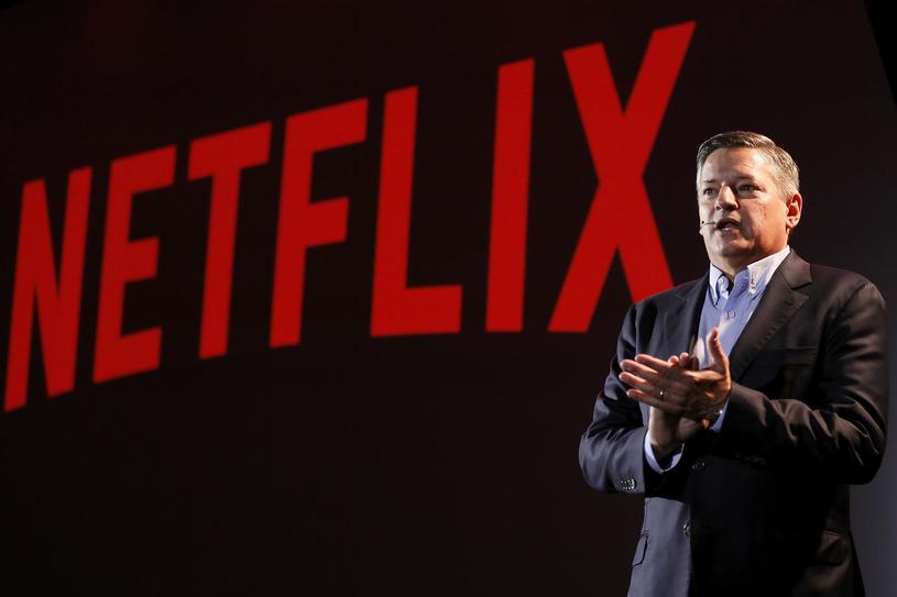 Ted Sarandos, dyrektor ds. treści Netflix na konferencji w Rzymie (18 kwietnia 2018) /materiały prasowe