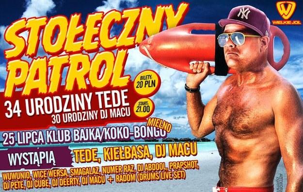 Tede świętował będzie urodziny w Mielnie /