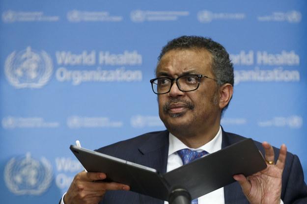 Tedros Adhanom Ghebreyesus - szef WHO /SALVATORE DI NOLFI /PAP/EPA
