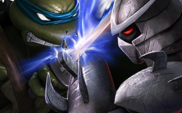 Teenage Mutant Ninja Turtles: Smash-Up - motyw graficzny /Informacja prasowa