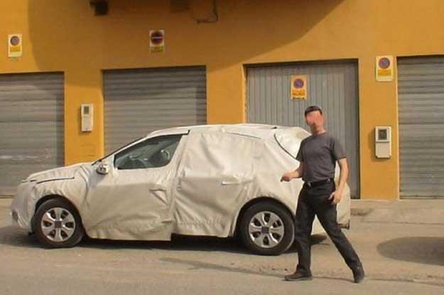 Tego auta nie udało się nam rozpoznać. Zdjęcie zrobiliśmy w Sierra Nevada w Hiszpanii /INTERIA.PL