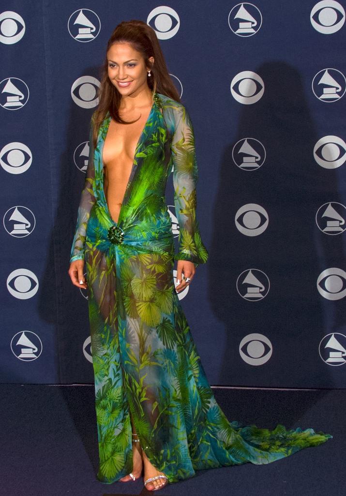 Tego dnia Jennifer Lopez nie miała żadnej konkurencji. Wszystkie oczy skierowane były w jej stronę /Getty Images