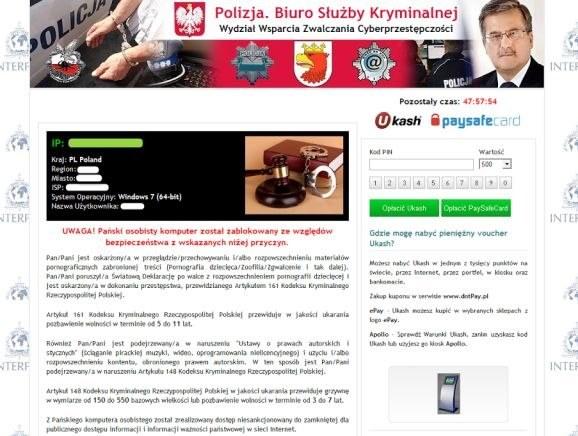 Tego lata w sieci pojawiła się nowa wersja wirusa o nazwie Urausy,  który wykorzystuje wizerunek Prezydenta RP Bronisława Komorowskiego /materiały prasowe