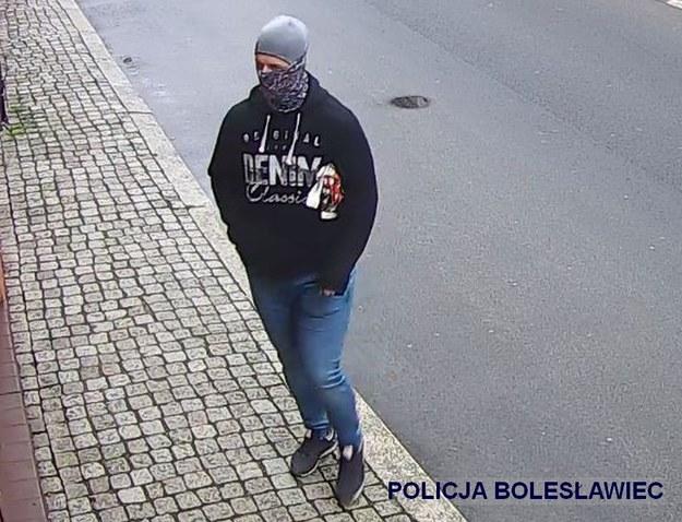 Tego mężczyzny poszukuje policja /Policja w Bolewsławcu  /