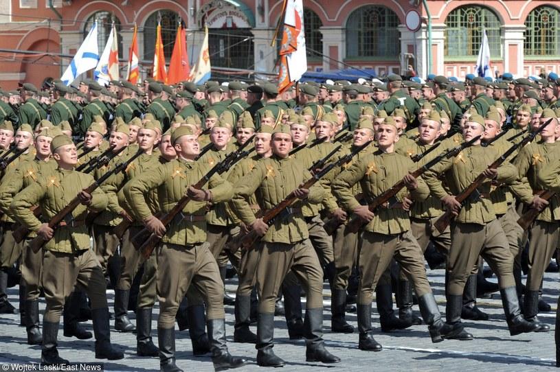 Tegoroczna parada wojskowa w Moskwie /Wojtek Laski /East News