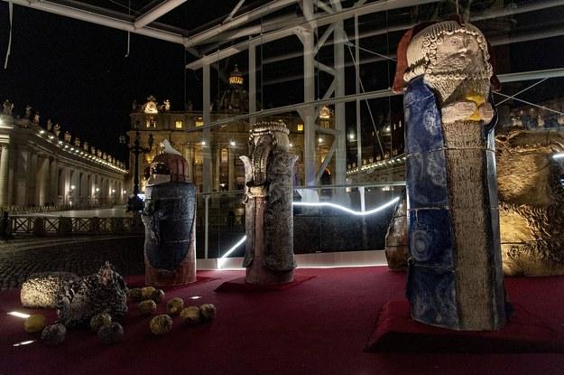 Tegoroczna szopka w Watykanie /©MASSIMILIANO MIGLIORATO/CPP / /PAP/EPA
