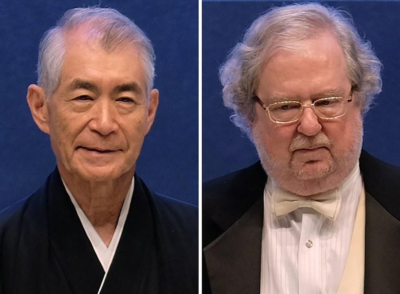 Tegoroczni laureaci Nagrody Nobla w dziedzinie medycyny i fizjologii /SAM YEH /AFP