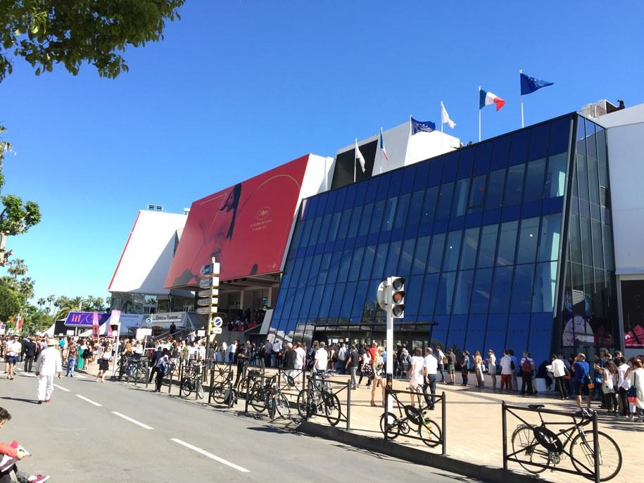 Tegoroczny Pałac Festiwalowy w Cannes /Katarzyna Sobiechowska-Szuchta /RMF FM