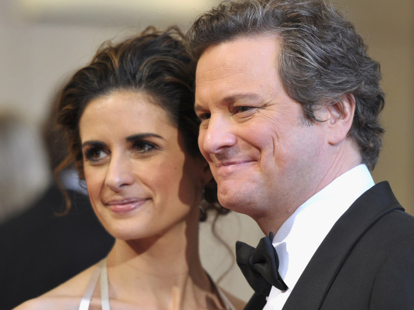 Tegoroczny zdobywca Oscara z żoną Livią  /Getty Images/Flash Press Media