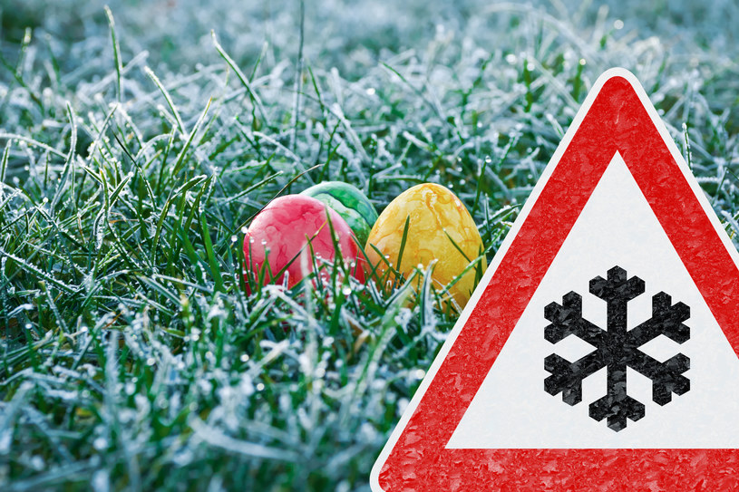 Tej Wielkanocy przypomni o sobie jeszcze śnieg /123RF/PICSEL