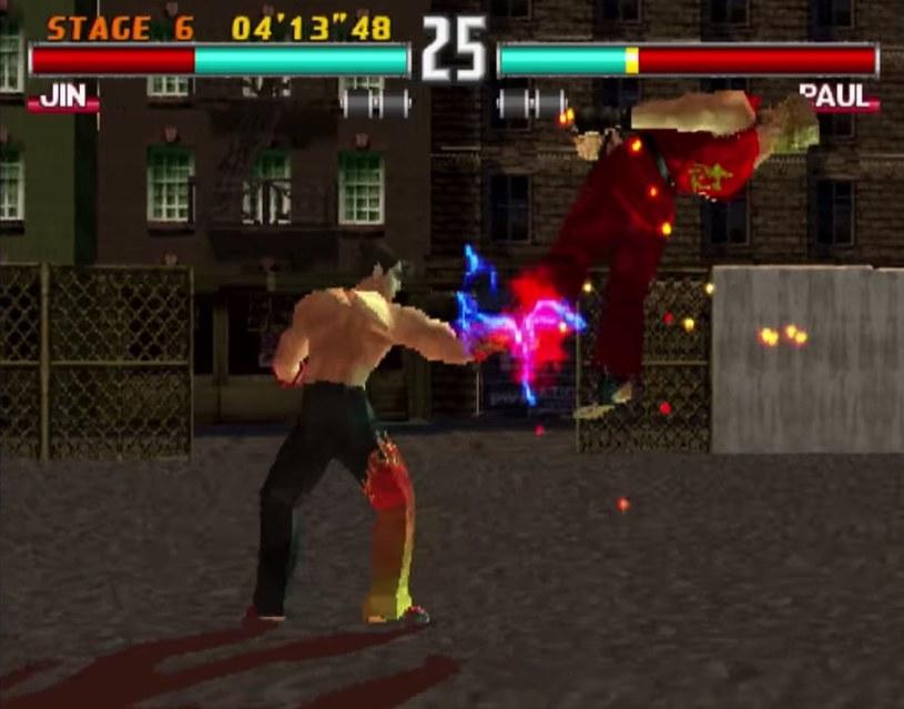 Tekken 3 - ostatnia odsłona kultowej bijatyki, jaka ukazała się na platformie PSX /materiały źródłowe