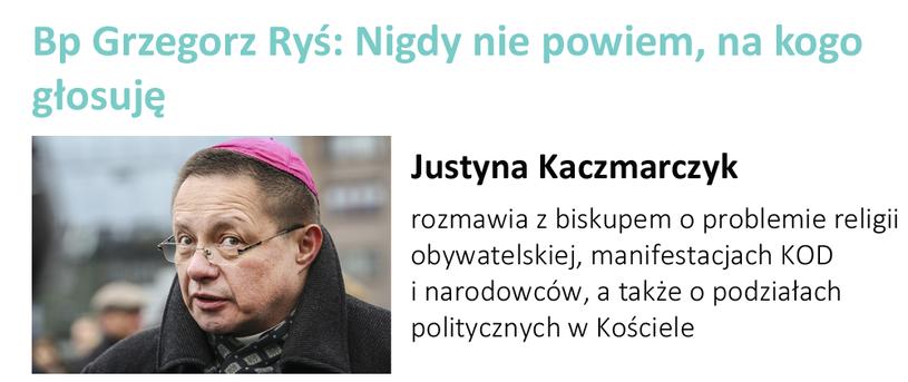 Tekst został opublikowany 8 czerwca 2016 roku w serwisie Fakty.interia.pl /
