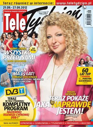 """""""Tele Tydzień"""" nr 38 /  /Tele Tydzień"""