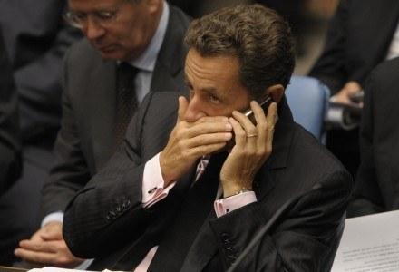 Telefon Nicolasa Sarkozy'ego ma być bezpieczniejszy od komórki używanej przez Baracka Obame /AFP