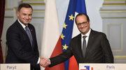 Telefoniczna rozmowa prezydentów Polski i Francji
