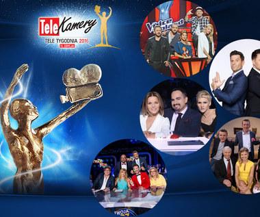 Telekamery 2016: Program rozrywkowy [nominacje]