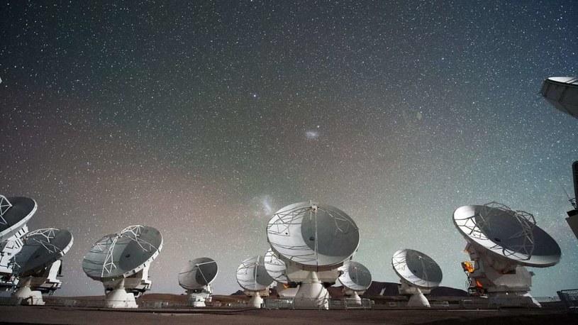 Teleskop ALMA został użyty w projekcie /materiały prasowe