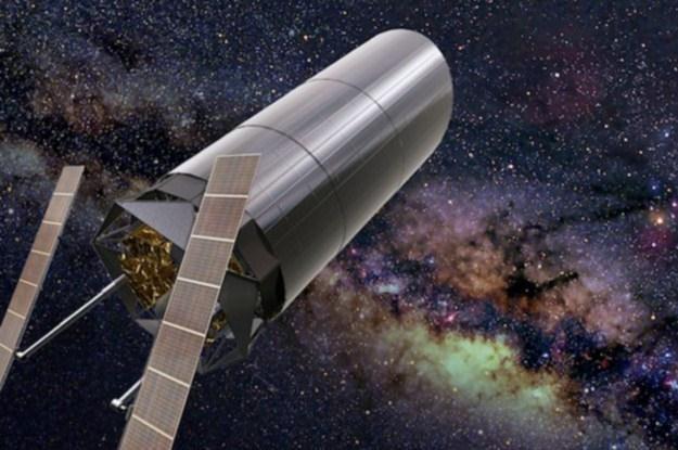 Teleskop ATLAST jest szykowany jako następca Kosmicznego Teleskopu Jamesa Webba /materiały prasowe