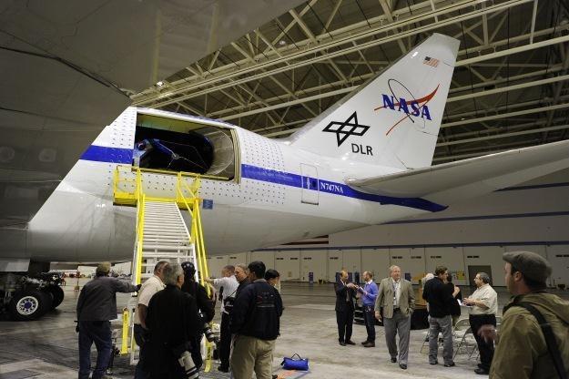 Teleskop SOFIA wbudowany w kadłub Boeinga 747 /AFP