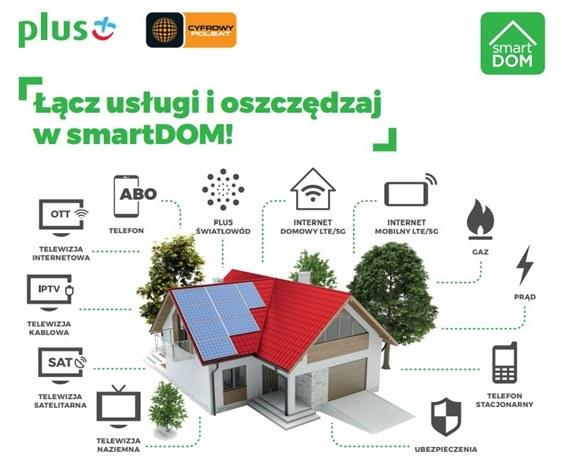Telewizja internetowa OTT Cyfrowego Polsatu dołącza do programu smartDOM /Polsat News