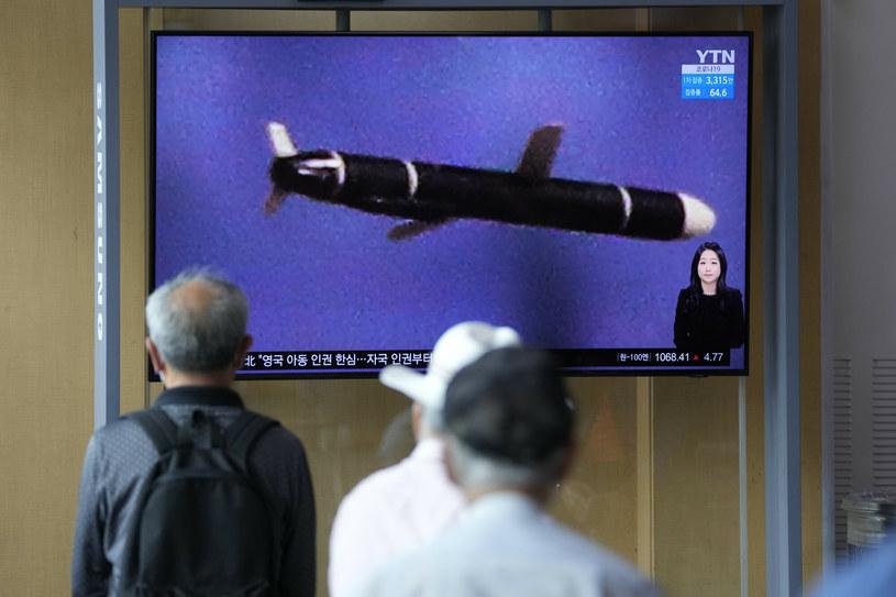 Telewizja w Seulu informuje o rozwoju wydarzeń w Korei Północnej /Associated Press /East News