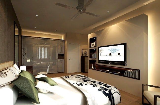 Telewizja w sypialni wady /© Photogenica