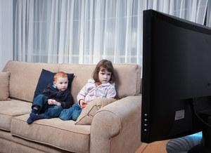 Telewizja wstrzymuje przedszkolaka