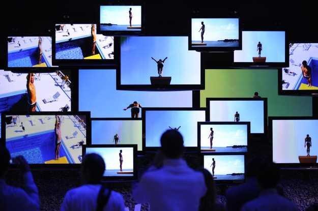 Telewizor cyfrowy - dwa lata temu hit sprzedażowy. Dzisiaj jest inaczej - trzeba walczyć o klienta /AFP