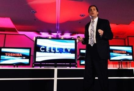 Telewizor Full HD 3D napędzamy procesorem Cell - prawie jak komputer? /AFP