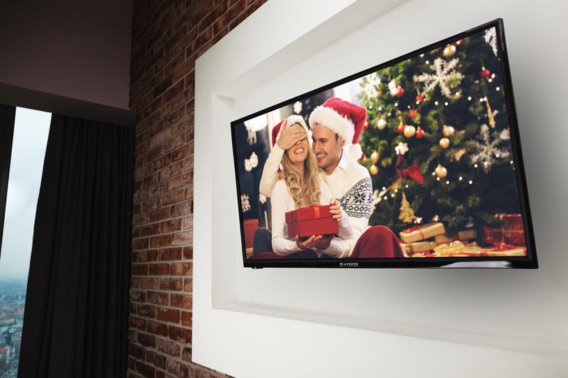 "Telewizor LED TV 32"" FULL HD marki Hykker /materiały prasowe"