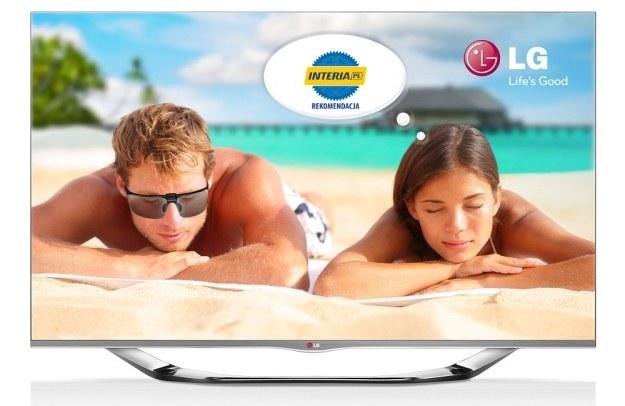 Telewizor LG 47LA691S otrzymuje Rekomendację serwisu Nowe Technologie INTERIA.PL /INTERIA.PL